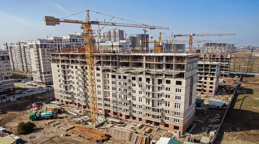 Отчет о строительстве Neo квартал «Красная площадь», апрель, 2021г.
