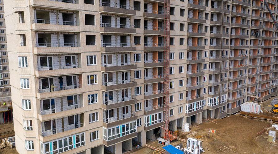 Отчет о строительстве ЖК «Абрикосово», апрель, 2021г.