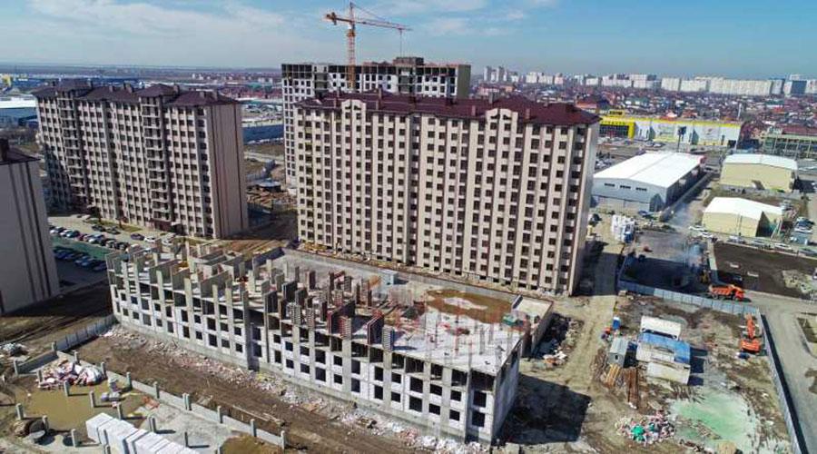 Отчет о строительстве ЖК «Баланс», март, 2021г.