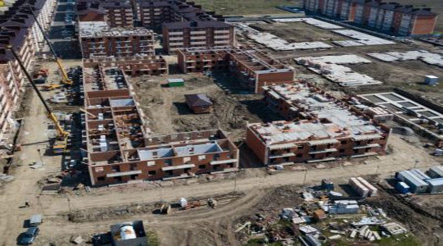 Отчет о строительстве ЖК «ДарГрад», апрель, 2021г.