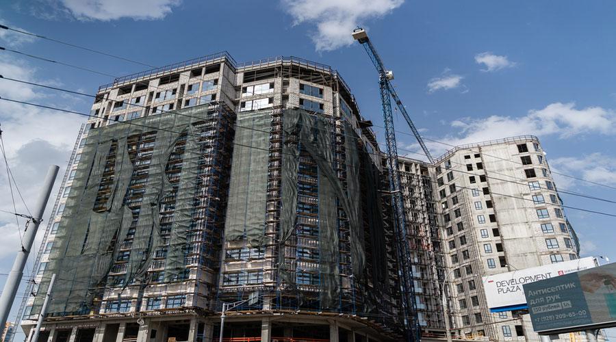 Отчет о строительстве ЖК «Development Plaza», апрель, 2021г.