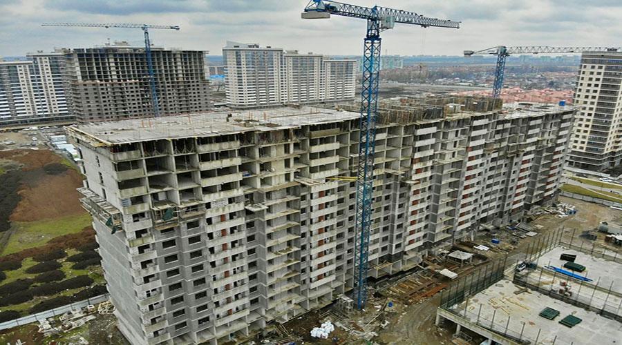 Отчет о строительстве ЖК «Дружный-2», апрель, 2021г.