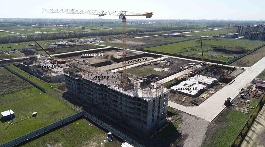 Отчет о строительстве ЖК «Дыхание», апрель, 2021г.