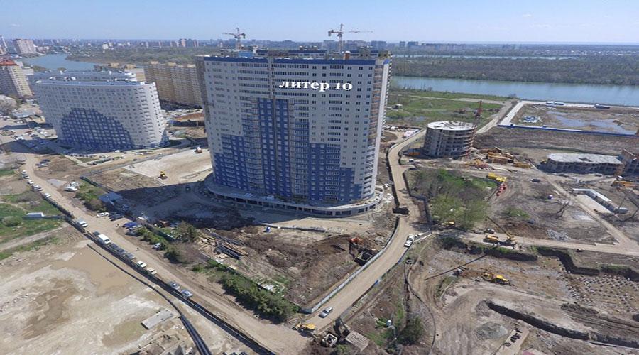 Отчет о строительстве ЖК «Фонтаны», апрель, 2021г.