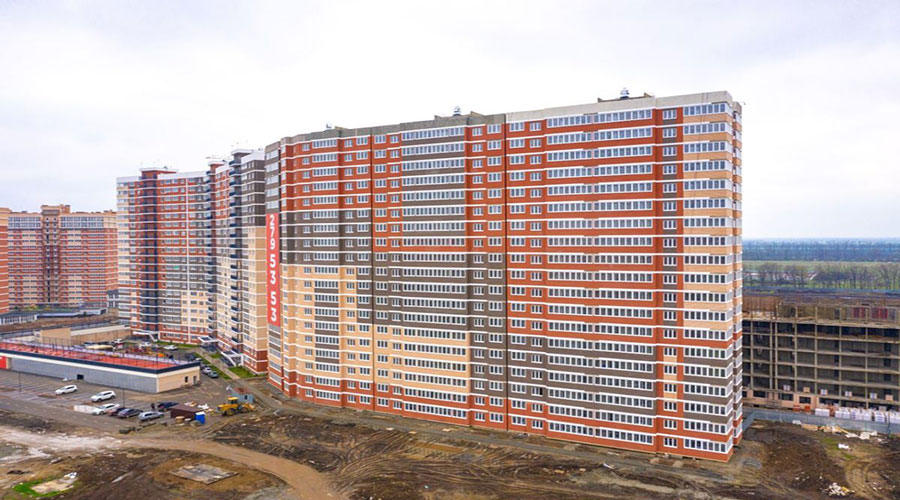 Отчет о строительстве ЖК «Грани», апрель, 2021г.