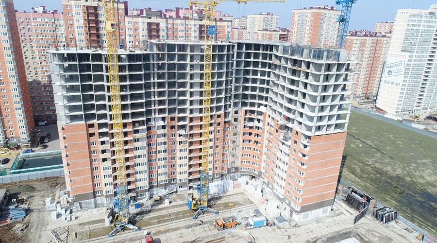 Отчет о строительстве ЖК «Губернский», апрель, 2021г.