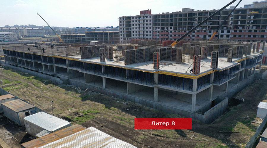 Отчет о строительстве ЖК «Краски», апрель, 2021г.