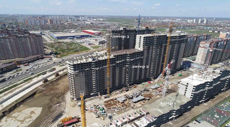 Отчет о строительстве ЖК «Лучший», апрель, 2021г.