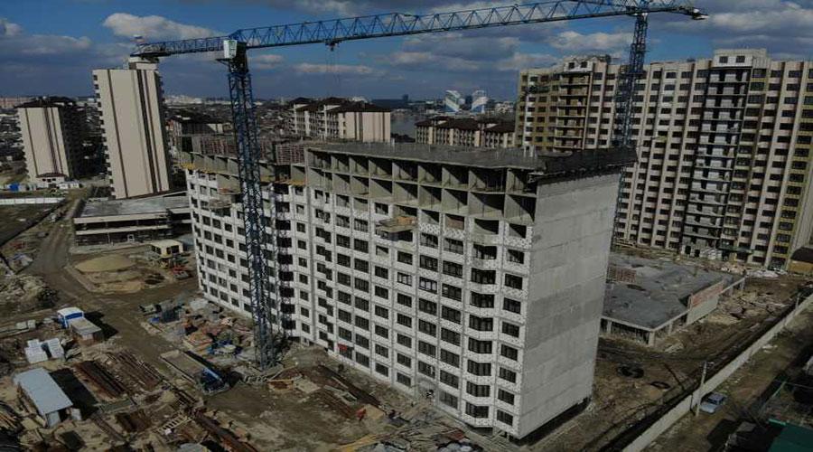 Отчет о строительстве ЖК «Мега Победа», апрель, 2021г.