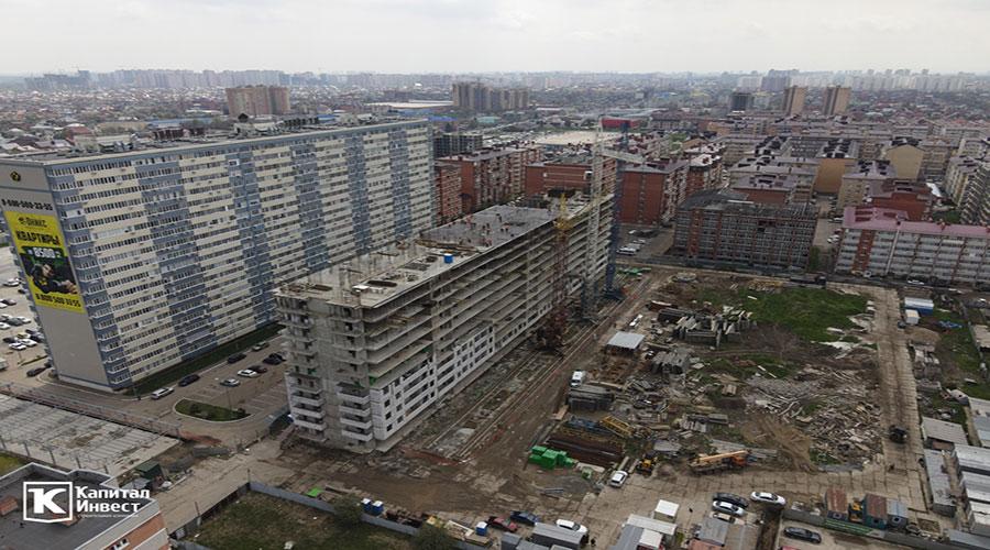 Отчет о строительстве ЖК «Оникс», апрель, 2021г.