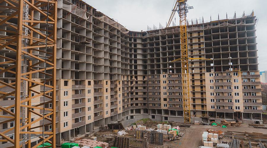Отчет о строительстве ЖК «Открытие», апрель, апрельг.