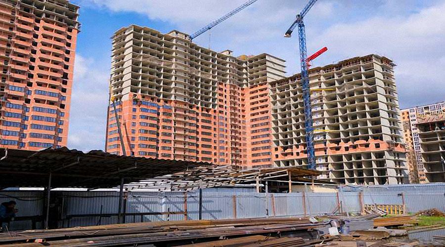 Отчет о строительстве ЖК «Парк Победы», апрель, 2021г.
