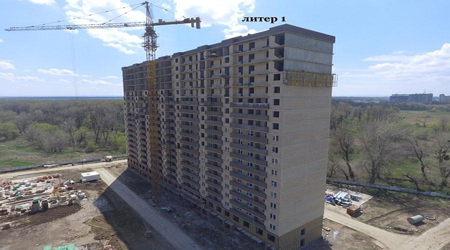 Отчет о строительстве ЖК «Поколение», апрель, 2021г.