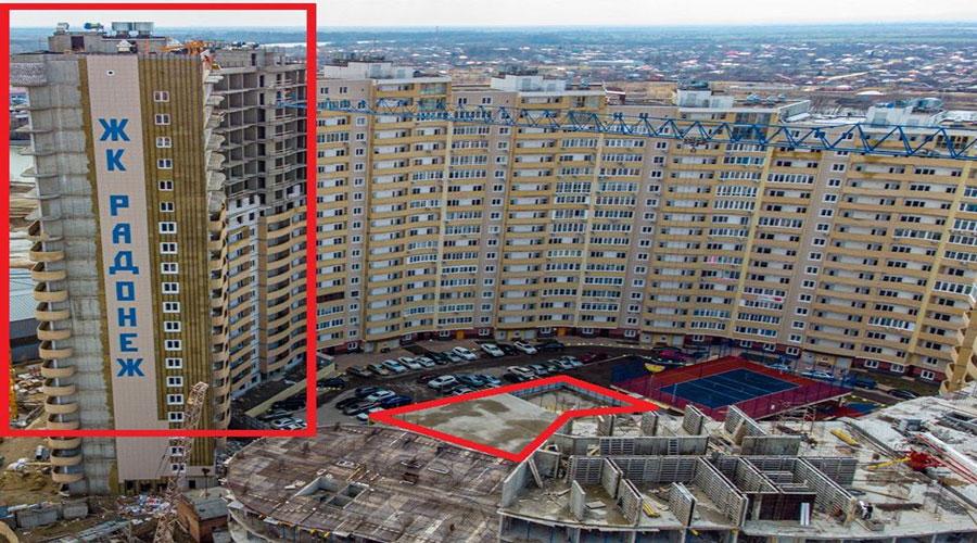 Отчет о строительстве ЖК «Радонеж», апрель, 2021г.