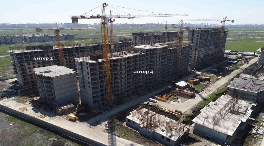 Отчет о строительстве ЖК «Ракурс», апрель, 2021г.