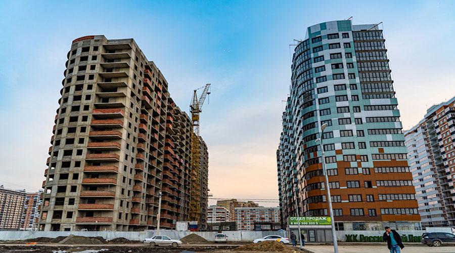 Отчет о строительстве ЖК «Россинский Парк», апрель, 2021г.