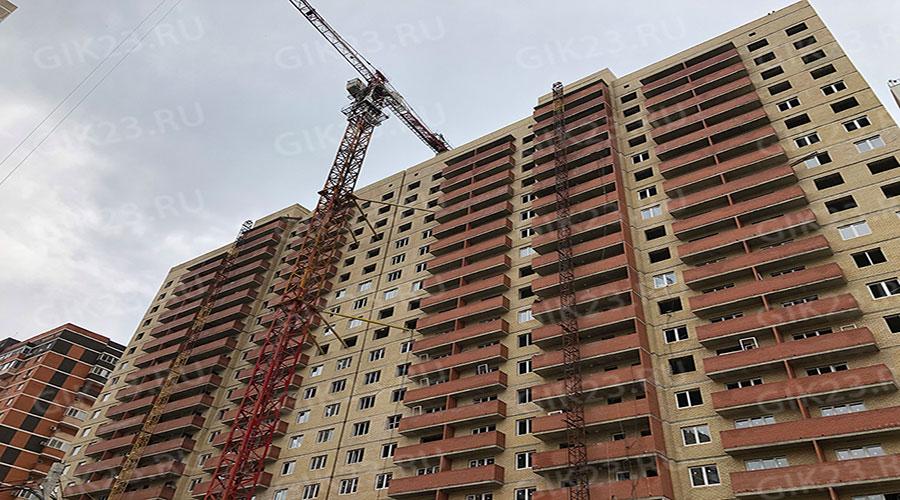 Отчет о строительстве ЖК «7 Вершин», апрель, 2021г.