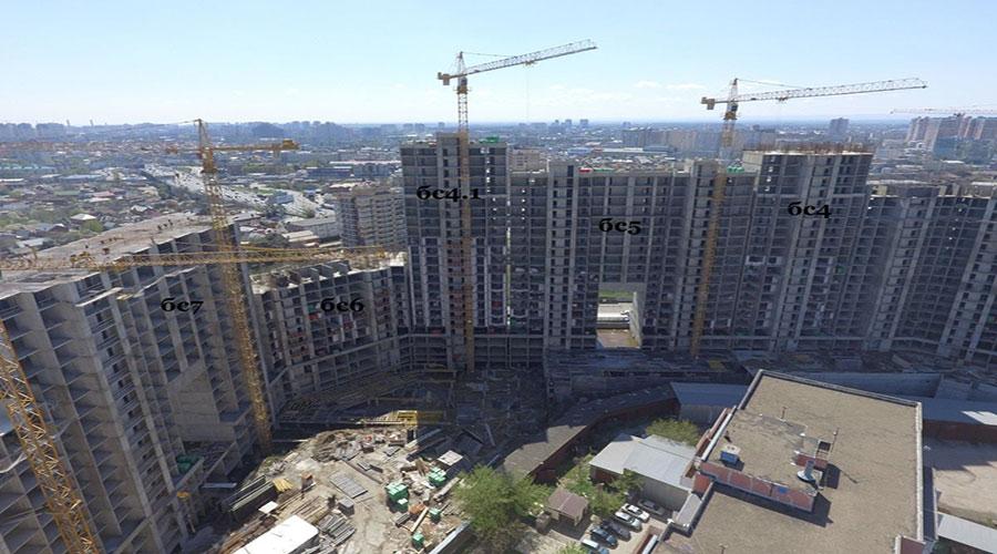 Отчет о строительстве ЖК «Сердце», апрель, 2021г.