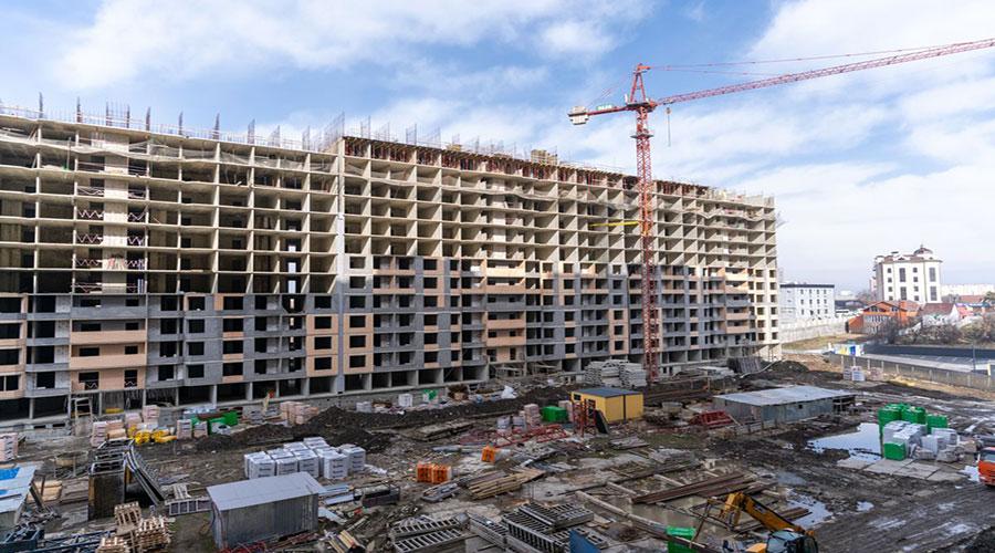 Отчет о строительстве ЖК «Сказка Град», апрель, 2021г.