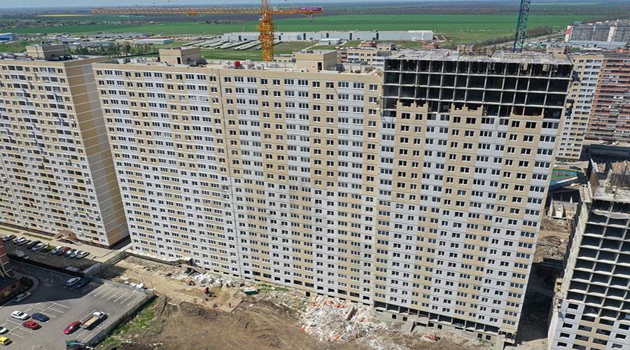 Отчет о строительстве ЖК «Славянка», апрель, 2021г.