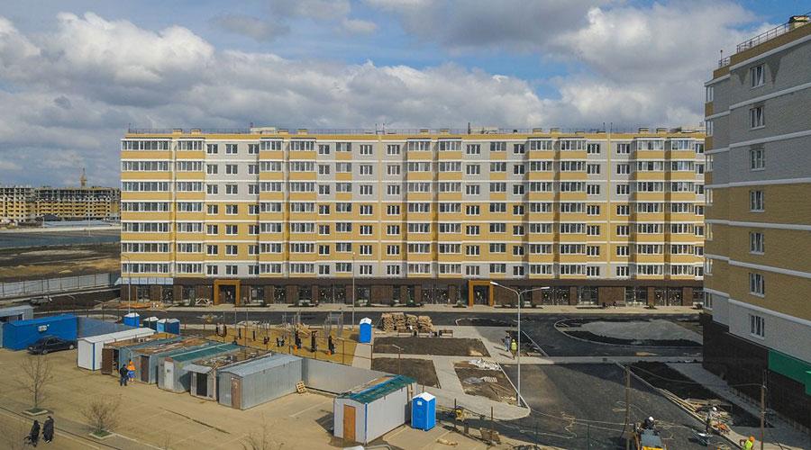 Отчет о строительстве ЖК «Светлоград», апрель, 2021г.