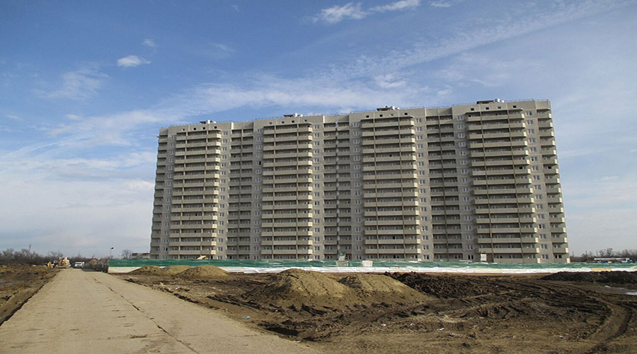 Отчет о строительстве ЖК «Восточно-Кругликовский», апрель, 2021г.