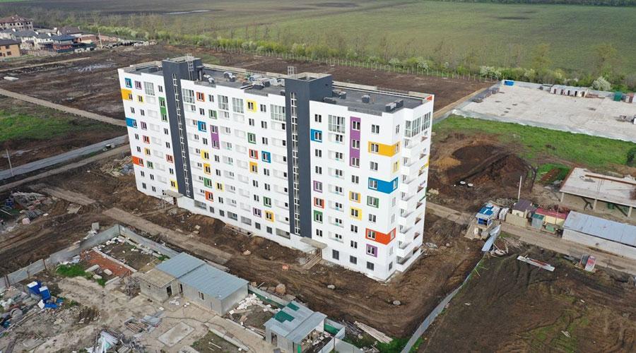 Отчет о строительстве ЖК «Южане», апрель, 2021г.