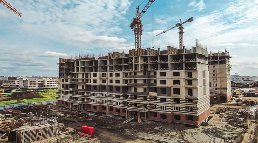 Отчет о строительстве Neo квартал «Красная площадь», май, 2021г.
