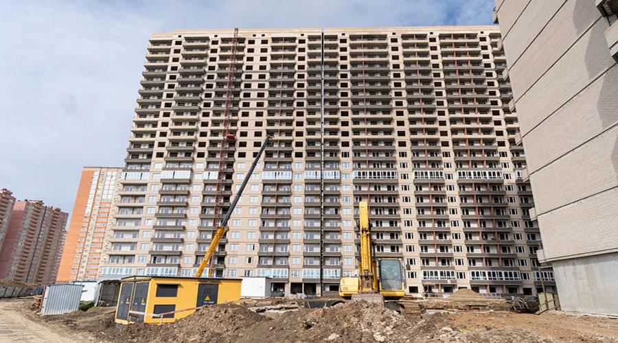 Отчет о строительстве ЖК «Абрикосово», май, 2021г.