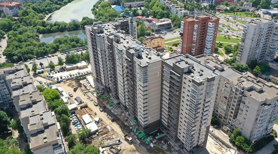 Отчет о строительстве ЖК «Айвазовский», май, 2021г.