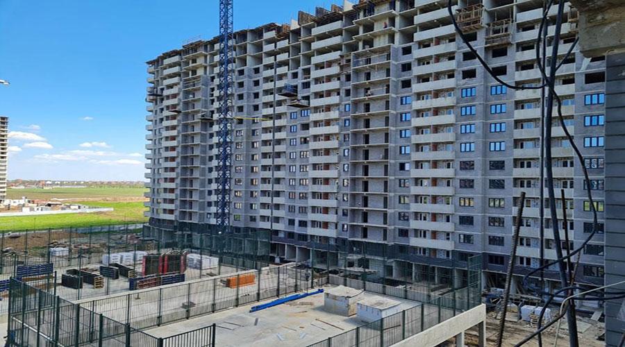 Отчет о строительстве ЖК «Дружный-2», май, 2021г.