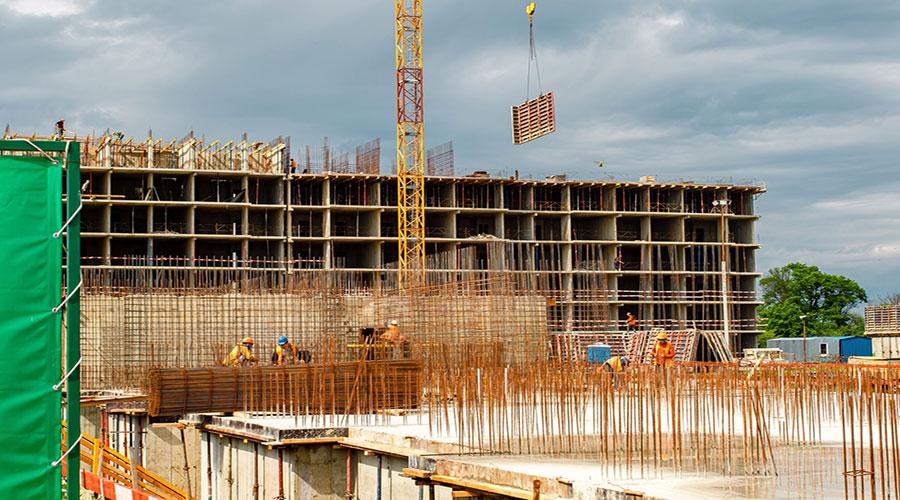 Отчет о строительстве ЖК «Дыхание», май, 2021г.