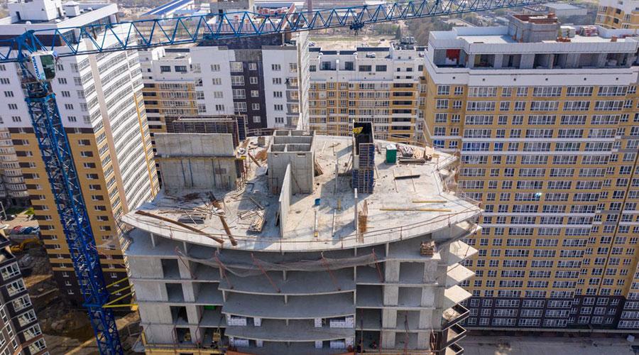 Отчет о строительстве ЖК «Элегант», май, 2021г.
