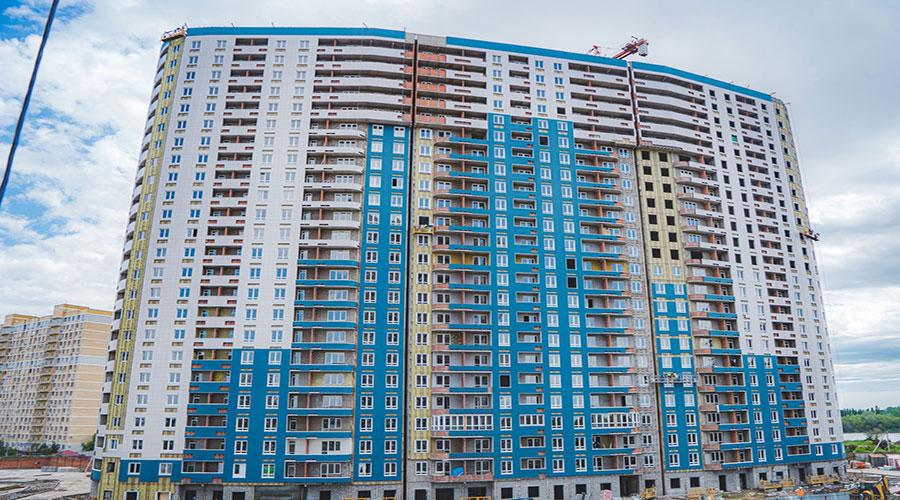 Отчет о строительстве ЖК «Фонтаны», май, 2021г.