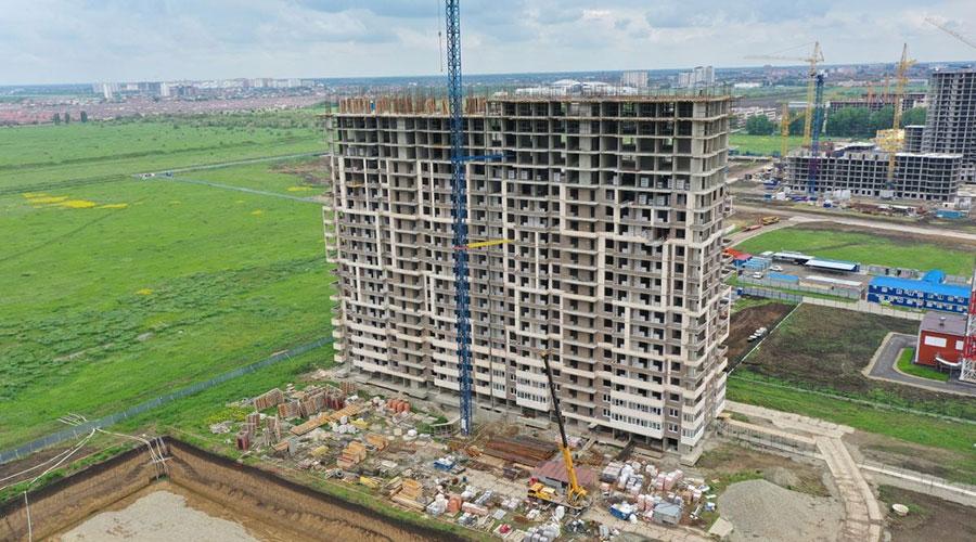 Отчет о строительстве ЖК «Отражение», май, 2021г.