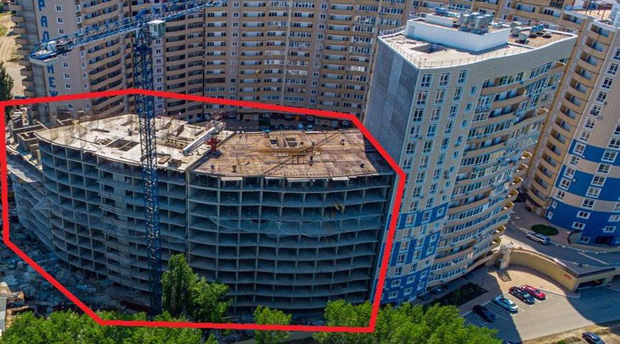 Отчет о строительстве ЖК «Радонеж», май, 2021г.