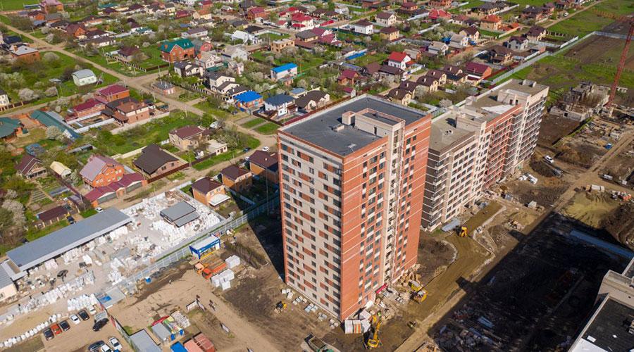 Отчет о строительстве ЖК «Родные Просторы», май, 2021г.