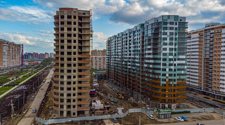 Отчет о строительстве ЖК «Россинский Парк», май, 2021г.
