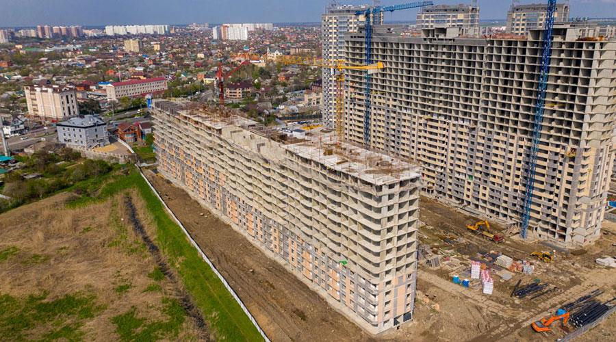 Отчет о строительстве ЖК «Сказка Град», май, 2021г.