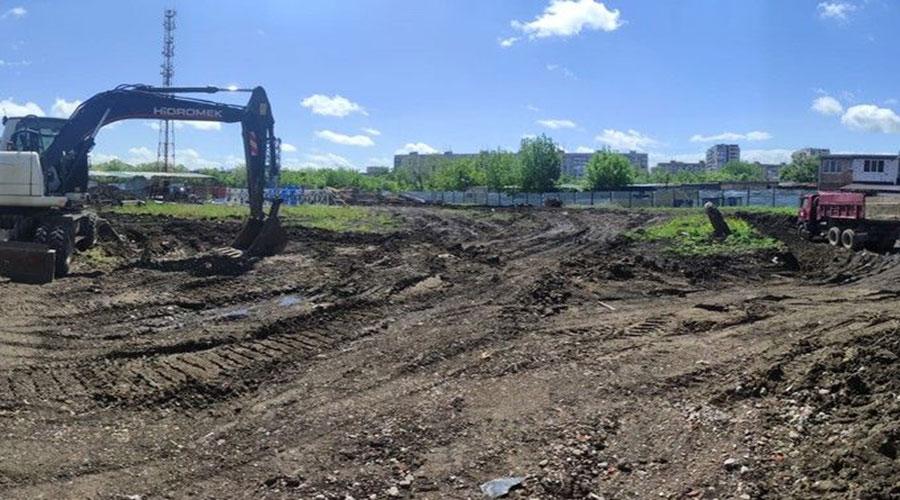Отчет о строительстве ЖК «Спортивный парк», май, 2021г.