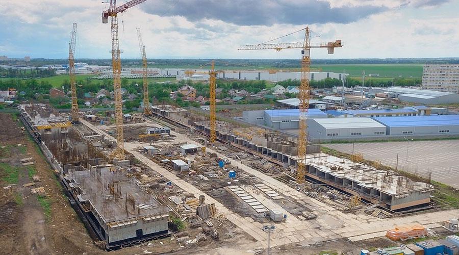 Отчет о строительстве ЖК «Светлоград», май, 2021г.