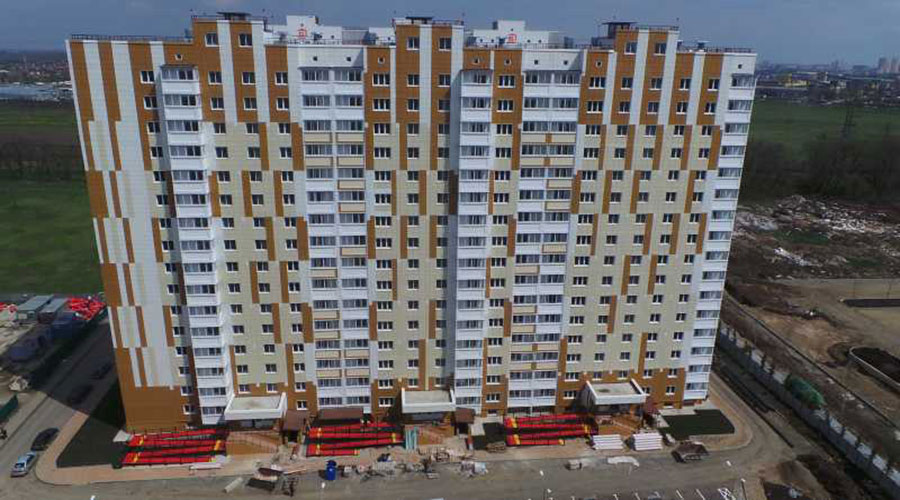 Отчет о строительстве ЖК «Восточно-Кругликовский», май, 2021г.