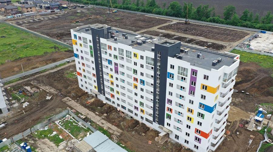 Отчет о строительстве ЖК «Южане», май, 2021г.