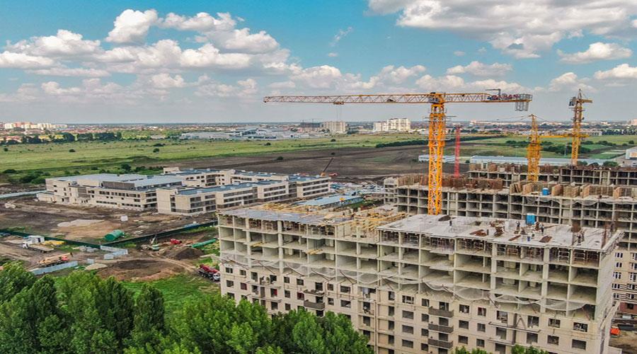 Отчет о строительстве Neo квартал «Красная площадь», июль, 2021г.