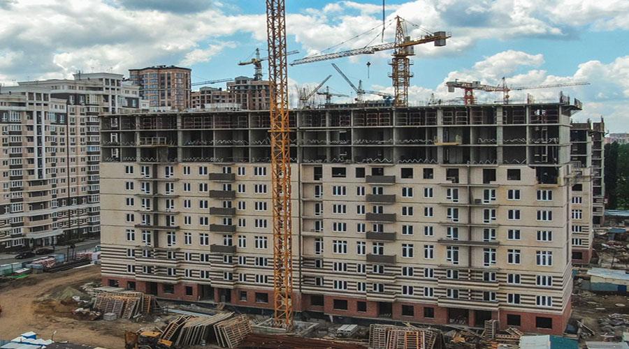 Отчет о строительстве Neo квартал «Красная площадь», июнь, 2021г.