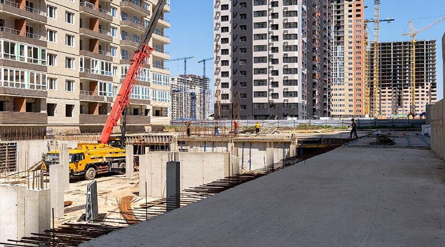 Отчет о строительстве ЖК «Абрикосово», июль, 2021г.