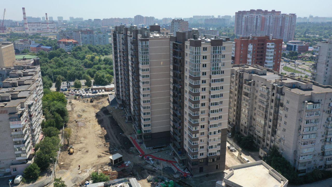 ЖК Айвазовский за июль 2021