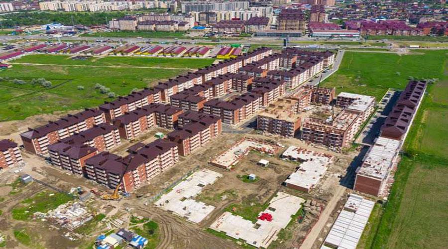Отчет о строительстве ЖК «ДарГрад», июнь, 2021г.