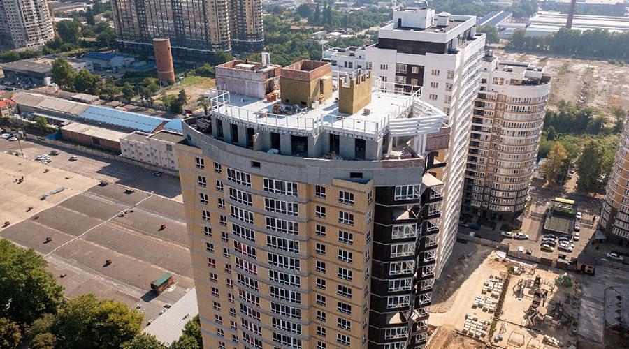Отчет о строительстве ЖК «Элегант», июль, 2021г.
