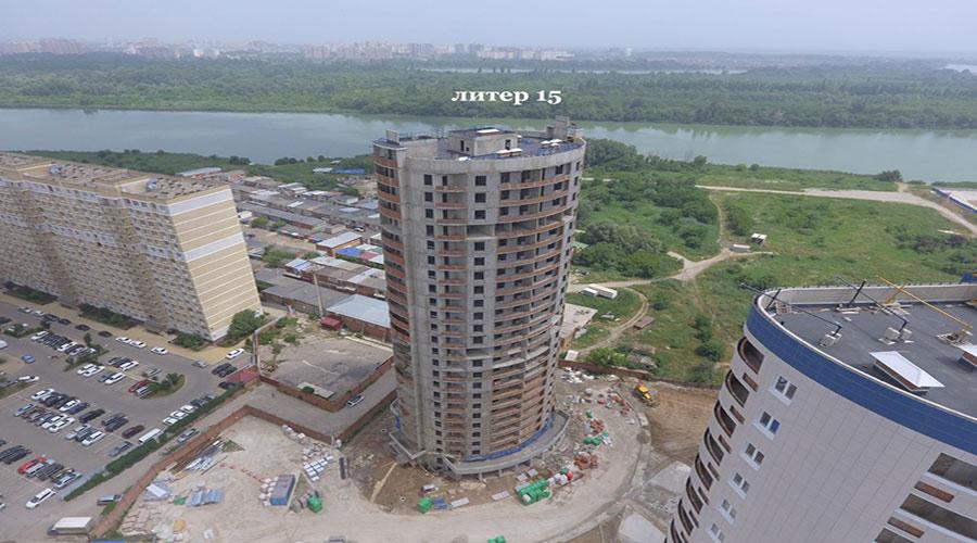 Отчет о строительстве ЖК «Фонтаны», июнь, 2021г.